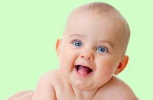 od smeha dete raste